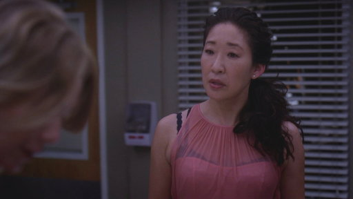 Meredith and Cristina Really Go at It