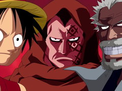 (Sub) The Strongest Family? Luffy's Father Revealed! Image