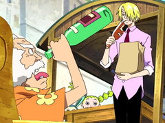 (Sub) Sanji's Shock! Mysterious Old Man and His Super Yummy Cooking! image