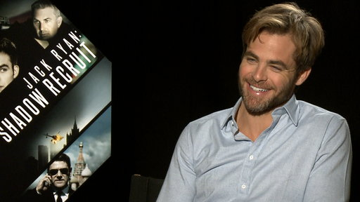 Chris Pine Talks Jack Ryan Film