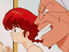 (Sub) Ranma and Kuno's...First Kiss Image