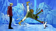 One Piece 329: The Assassins Attack! the Great Battle On Ice Begins!