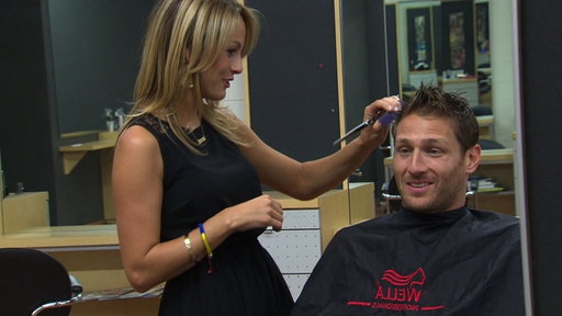 Juan Pablo Gets a Haircut