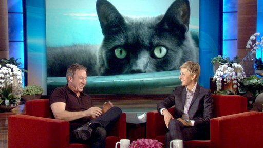 Tim Allen's Huge Cat