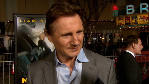 Liam Neeson Laughs Off