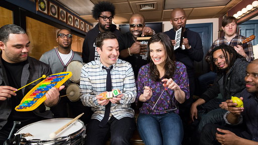 Jimmy Fallon, Idina Menzel & the Roots Sing Let It Go from Frozen (w/ Classroom Instruments)