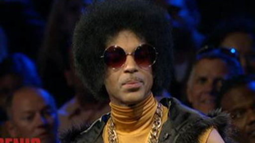 Prince Dislikes 'strangers Touching His Hair'