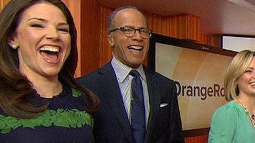 Happy Birthday, Lester Holt! Plaza Fans, Co-anchors Celebrate