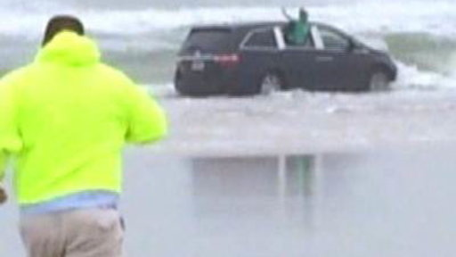 Mom Who Drove Minivan Into Ocean Charged