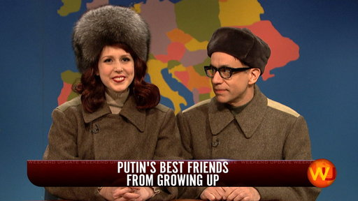 Weekend Update: Vladimir Putin's Best Friends from Growing up