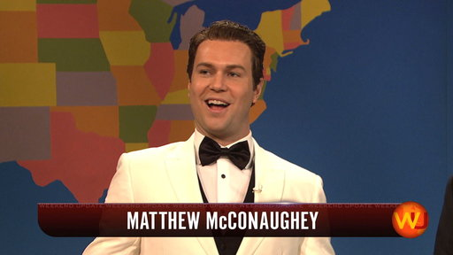Weekend Update: Matthew McConaughey