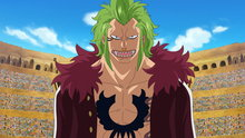 One Piece 636: A Super Rookie! Bartolomeo the Cannibal!