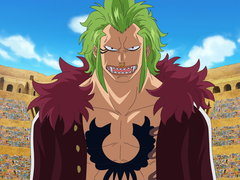 (Sub) A Super Rookie! Bartolomeo the Cannibal! image