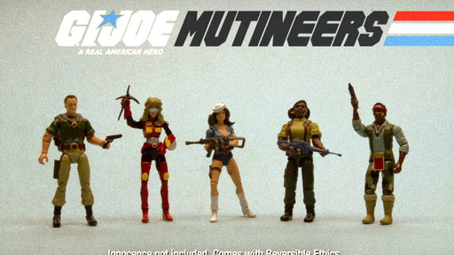 G.I. Joe Mutineers Commercial