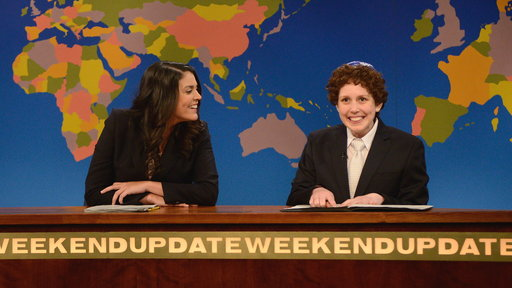 Weekend Update: Jacob the Bar Mitzvah Boy On Passover
