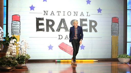 It's National Eraser Day