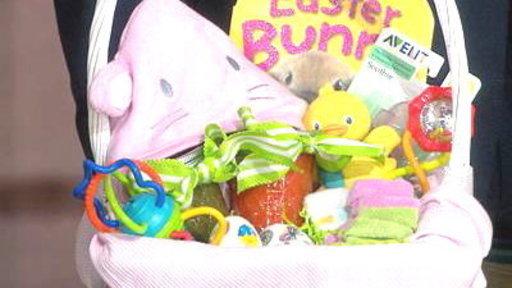 Egg-cellent Easter Baskets for Baby