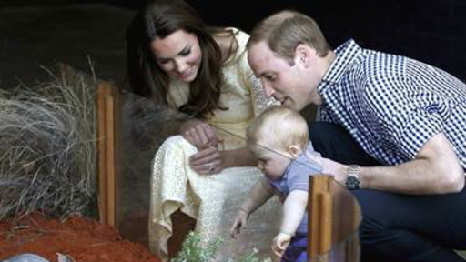 Prince George Meets George the Marsupial On Zoo Trip