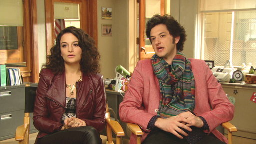 Ben Schwartz and Jenny Slate Talk Parks