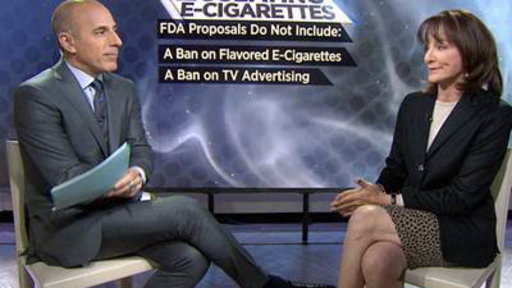 Dr. Nancy Snyderman: E-cigarette Issue 'is a Big Fight'