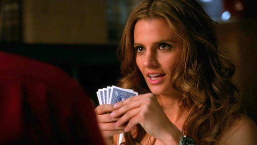 Beckett and Castle Play Strip Poker