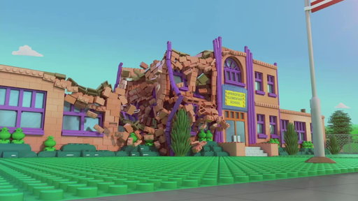 Springfield Elementary Collapses, Brick-by-Brick