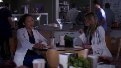 Meredith & Cristina Discuss Her Leaving