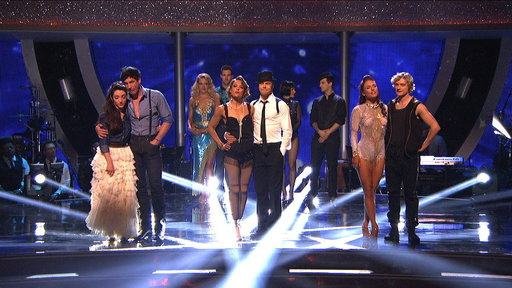 The Eighth Elimination of DWTS 2014