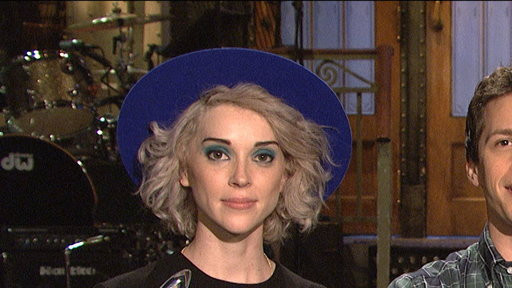 SNL Promo: Andy Samberg and St. Vincent