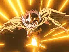 Shiryu Challenges Deathmask image