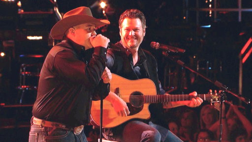 Jake Worthington and Blake Shelton: