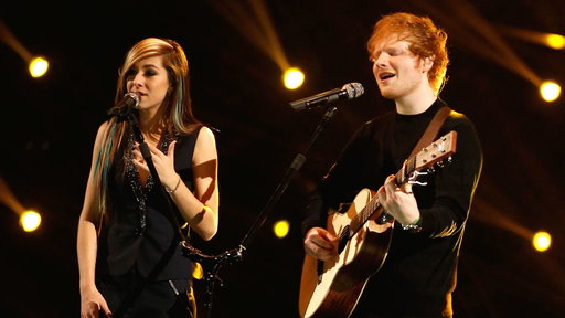 Ed Sheeran and Christina Grimmie: