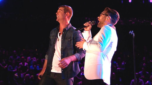 Josh Kaufman and Robin Thicke:
