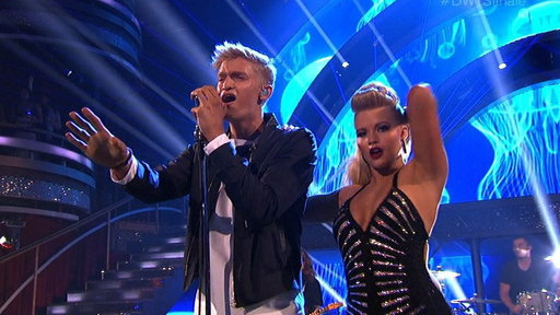 Cody Simpson Performs On DWTS