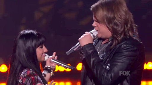 Idol Finale: Caleb Johnson & Jena Irene Performs a Duet Medley!