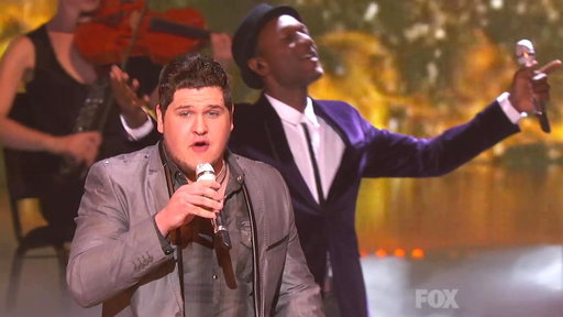 Idol Finale: Aloe Blacc & Top 13 Guys