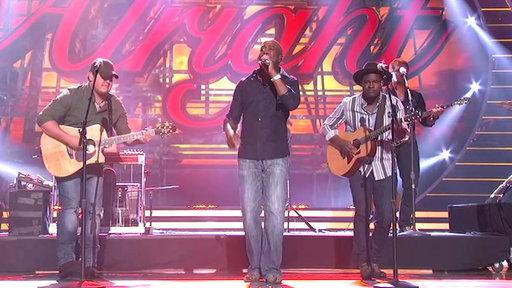 Idol Finale: Darius Rucker, Dexter Roberts & C.J. Harris