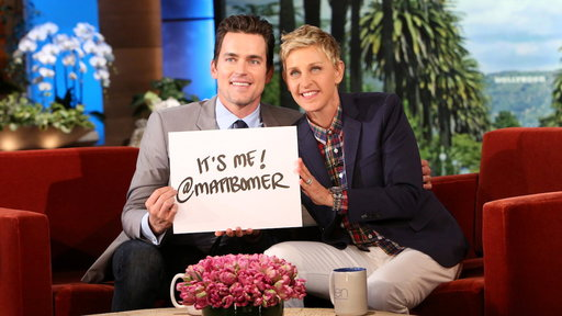 Matt Bomer Is On Twitter!