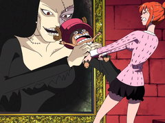 (Sub) Nami's in a Major Pinch! the Zombie Mansion and the Invisible Man Image