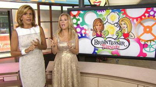 Brainteaser Tuesday! KLG, Hoda Flex Mind Muscles
