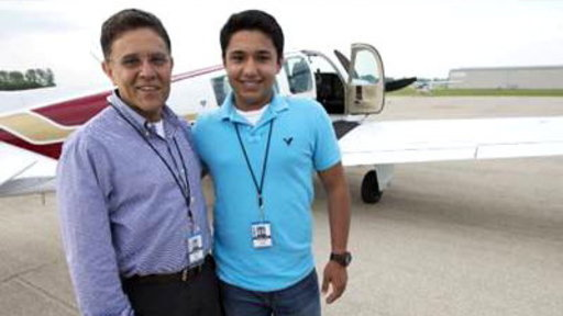 Teen Pilot and Dad Crash in South Pacific