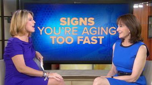 Signs You're Aging Too Fast