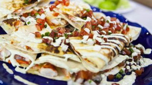 Maine Event: Try Tasty Lobster Quesadilla