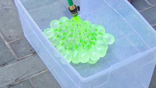 How to Fill 100 Water Balloons in 1 Minute