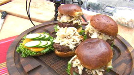 Cook up a Surf-and-Turf Burger