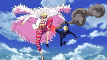 One Piece 655: A Big Clash! Sanji vs. Doflamingo!