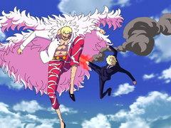 (Sub) A Big Clash! Sanji vs. Doflamingo! image