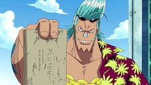 One Piece 284: I'm Not Gonna Hand Over the Blueprints! Franky's Decision!