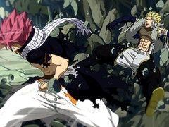 (Sub) Natsu vs. the Twin Dragons image