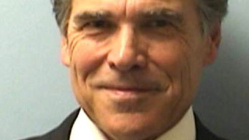 Gov. Rick Perry Booked On 2 Felony Counts